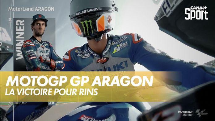 La victoire pour Rins : Grand Prix d'Aragon