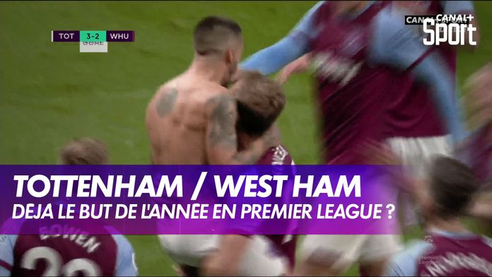 Le but magistral de Lanzini à la dernière minute ! : Premier League