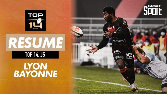 Le résumé de Lyon / Bayonne : Canal Rugby Club
