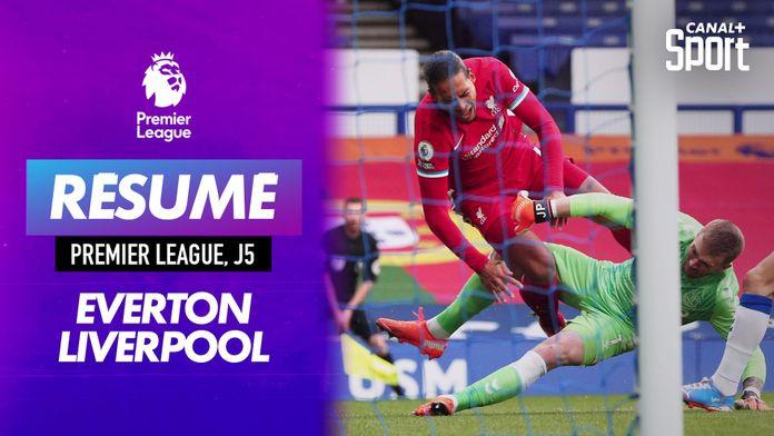 Le résumé du derby Everton - Liverpool en VO : Premier League
