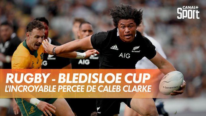 Caleb Clarke en mode Jonah Lomu : Bledisloe Cup