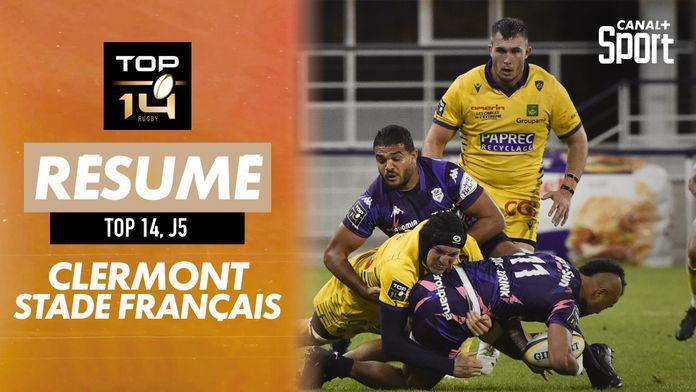 Le résumé de Clermont / Stade Français : TOP 14