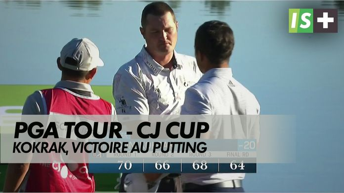 Jason Kokrak, victoire au putting : CJ Cup