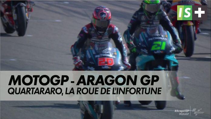 Les déboires de Fabio Quartararo : Grand prix d'Aragon
