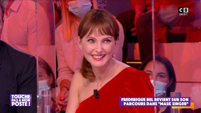 """Frédérique Bel revient sur sa participation à """"Mask Singer"""""""