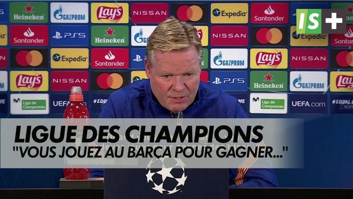 Pour repartir du bon pied : Ligue des Champions - FC barcelone