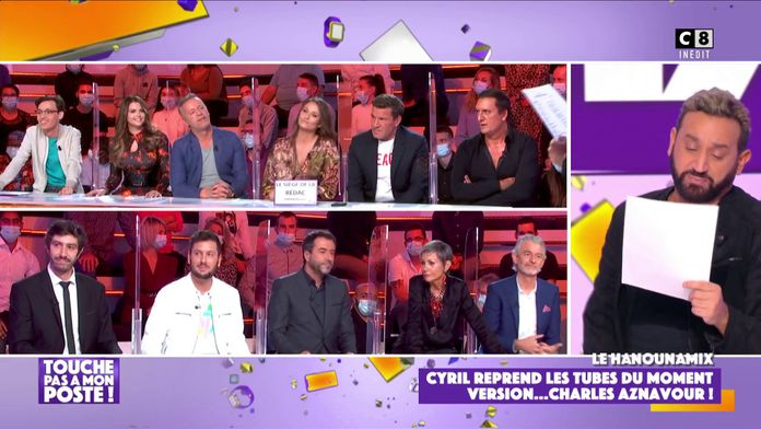 Le Hanounamix : Cyril Hanouna reprend les tubes du moment version Charles Aznavour