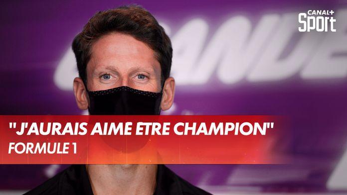 """Romain Grosjean : """"J'aurais aimé être champion du monde"""""""