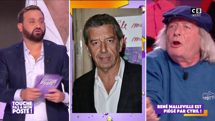 René Malleville piégé par Cyril Hanouna en lui faisant croire qu'il appelait Michel Cymes