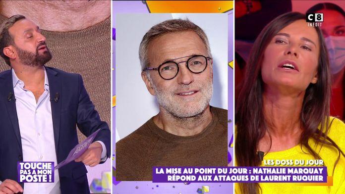 Nathalie Marquay répond aux attaques de Laurent Ruquier dans TPMP