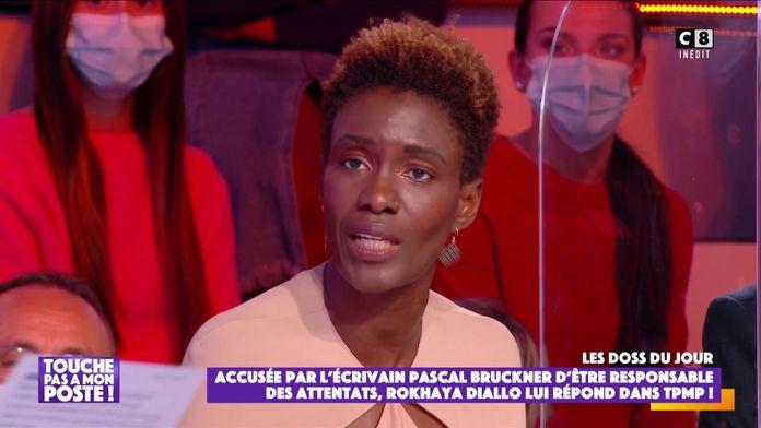 """Rokhaya Diallo répond aux attaques de l'écrivain Pascal Bruckner : """"J'étais estomaquée"""""""