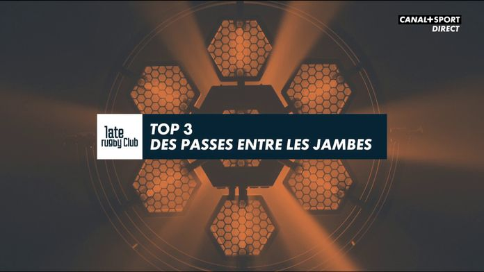 Top 14 : le top 3 des passes entre les jambes : Late Rugby Club