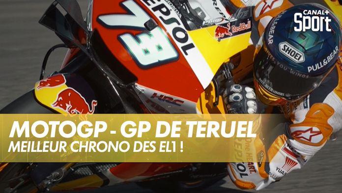 Chute d'Álex Márquez ! : Grand Prix de Teruel