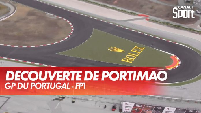 Le survol et le détail du circuit de Portimão : Grand Prix du Portugal