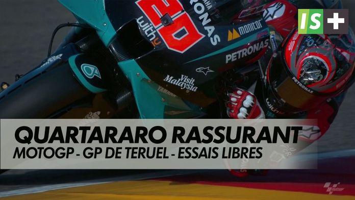 Quartararo rassurant : MotoGP : GP de Teruel - Essais libres 2