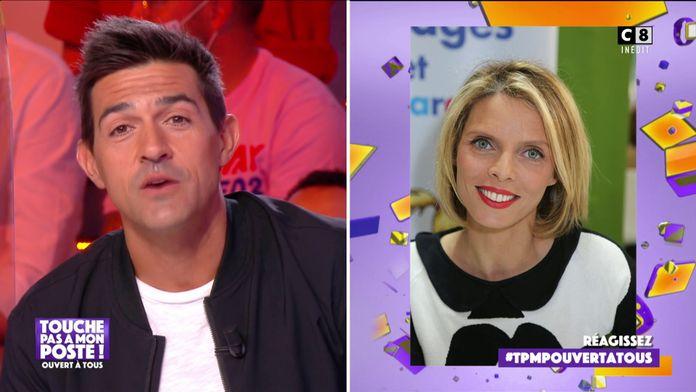 Jean-Pascal Lacoste adresse un message à Sylvie Tellier