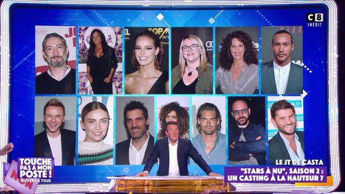 Stars à nu : Le casting de la saison 2 dévoilé !