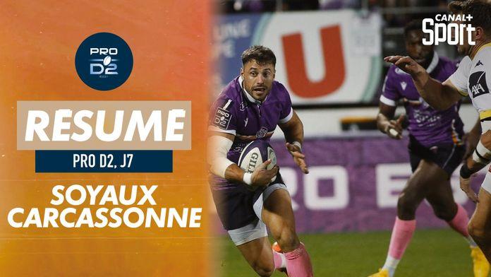 Le résumé de Soyaux-Angoulême / Carcassonne : PRO D2
