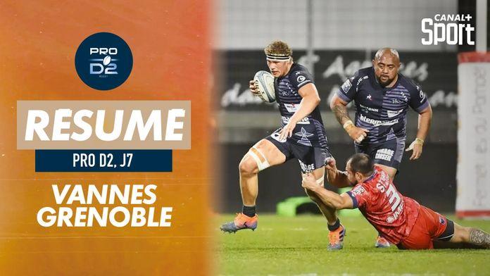 Le résumé de Vannes / Grenoble : PRO D2