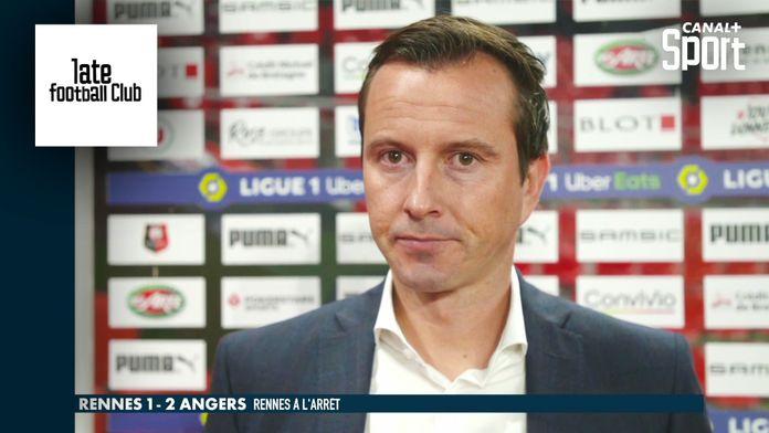 La réaction de Julien Stéphan après la défaite de Rennes : Late Football Club