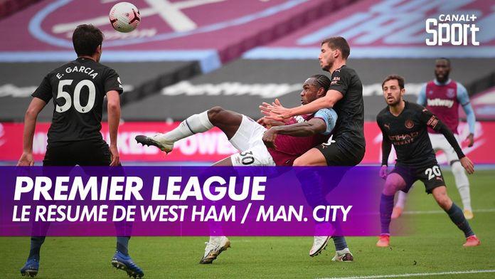 Le résumé de West Ham / Manchester City : Premier League, 6ème journée