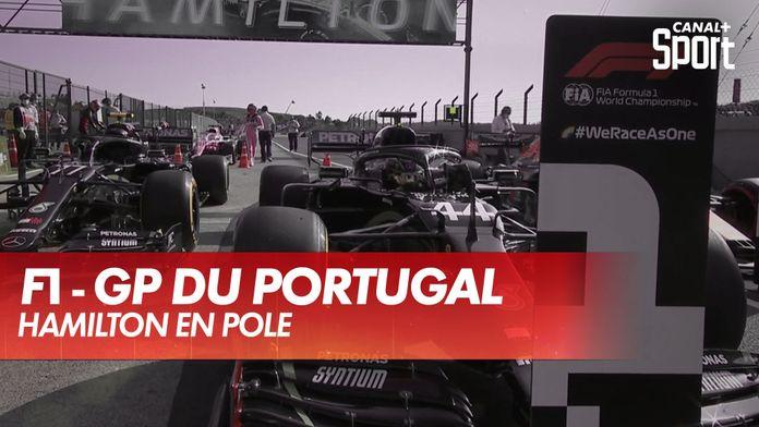 Hamilton, première pole au Portugal ! : Grand Prix du Portugal