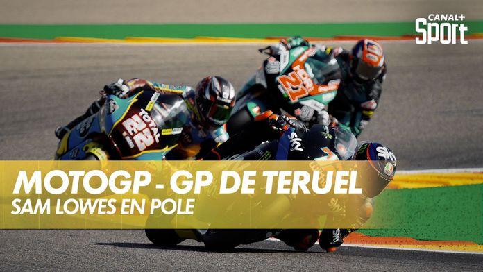 Sam Lowes en pole ! : Grand Prix de Teruel