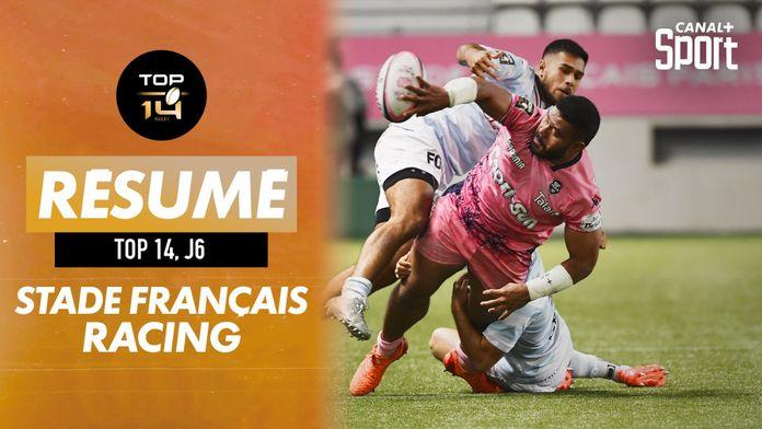 Le résumé de Stade Français / Racing : TOP 14