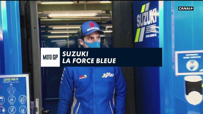 Suzuki, la force bleue : Grand Prix de Teruel