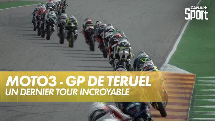 Tension maximale au dernier tour ! : Grand Prix de Teruel