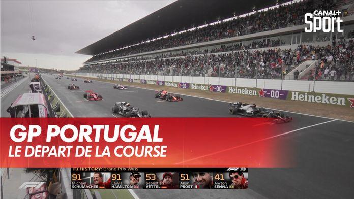 Le départ de la course : Grand Prix du Portugal
