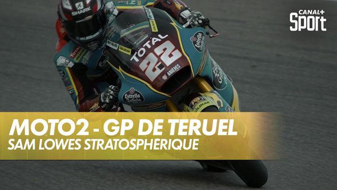 Troisième victoire d'affilée pour Sam Lowes ! : Grand Prix de Teruel