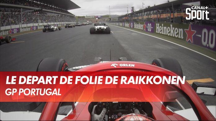 Le départ de folie de Kimi Räikkönen en onboard ! : Grand Prix du Portugal