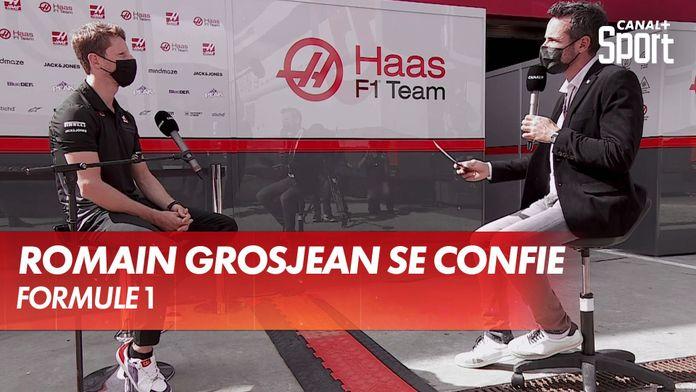 Interview de Romain Grosjean après l'annonce de son départ de Haas : Grand Prix du Portugal