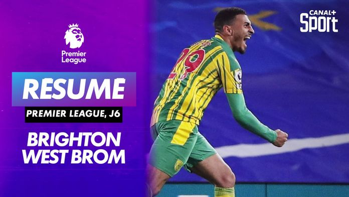 Les buts de Brighton / West Bromwich : Premier League