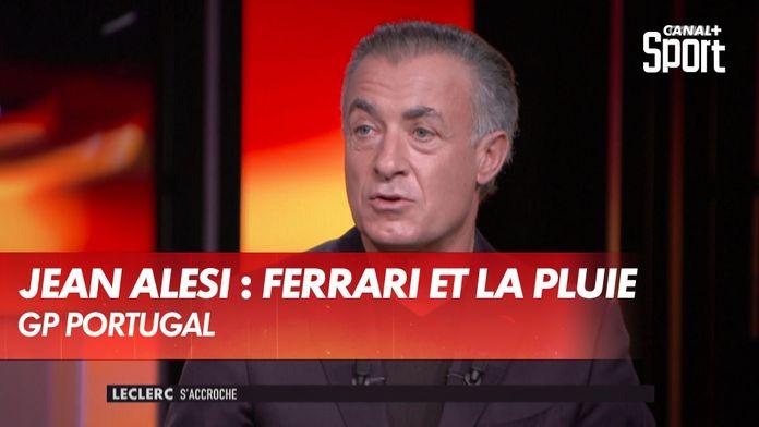 Jean Alesi sur Ferrari et... la pluie ! : Grand Prix du Portugal