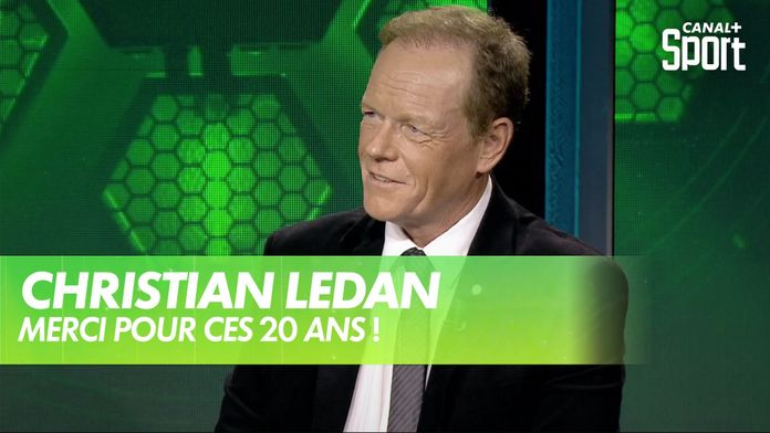 La voix du golf sur CANAL+ : Christian Ledan