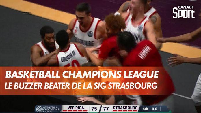 """Le """"Buzzer Beater"""" de Bonzie Colson pour la victoire de la SIG : Basketball Champions League"""