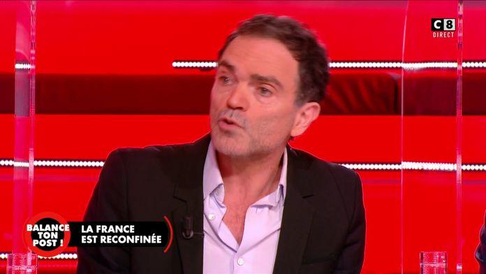 """Yann Moix suite à l'allocution d'Emmanuel Macron : """"J'ai trouvé le Président catastrophique"""""""