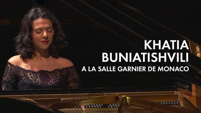 Khatia Buniatishvili à la salle Garnier de Monaco
