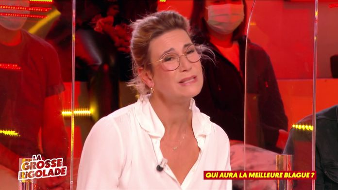 La blague de Virginie Hocq sur les blondes !