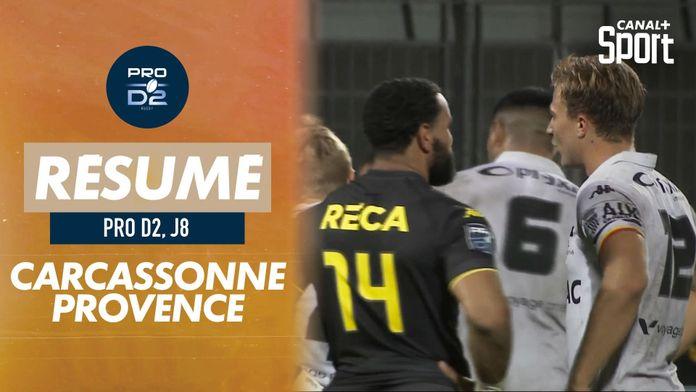 Le résumé de Carcassonne / Provence Rugby : Pro D2