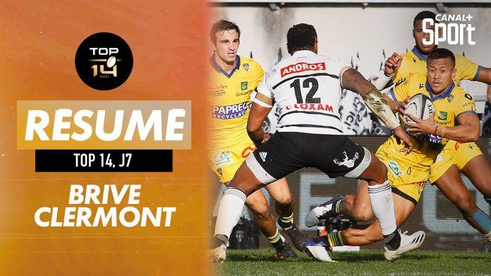 Le résumé de Brive / Clermont : TOP 14