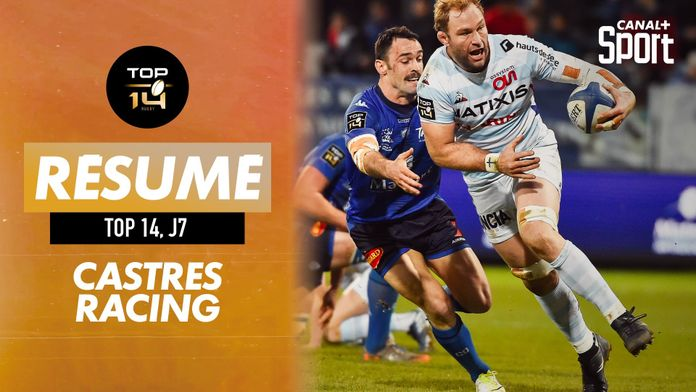 Le résumé de Castres / Racing : TOP 14