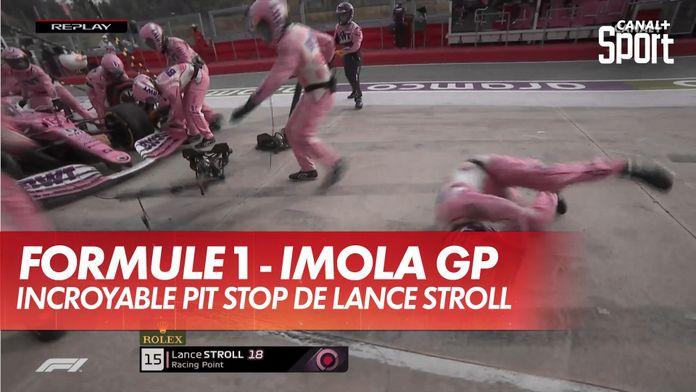 Lance Stroll incroyable pit stop : Grand Prix d'Émilie-Romagne