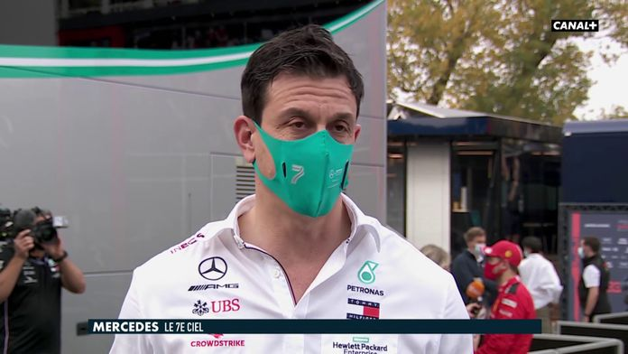 Toto Wolff revient sur la stratégie des ses deux pilotes : Grand Prix d'Émilie-Romagne