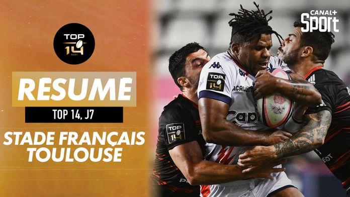 Le résumé de Stade Français - Toulouse : démonstration à Jean Bouin ! : Top 14