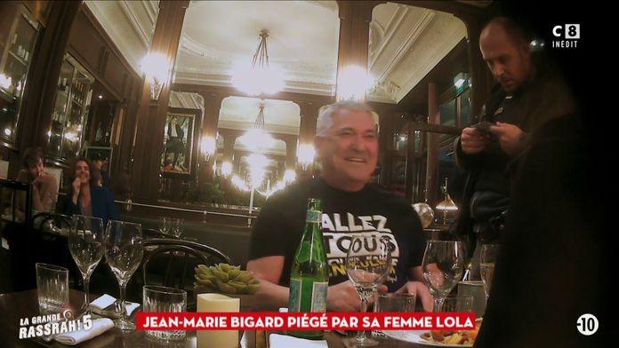 Jean-Marie Bigard piégé par sa femme Lola