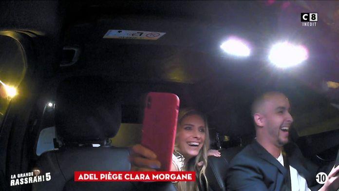 Adel piège Clara Morgane, Nelson Monfort et Isabelle Vitari