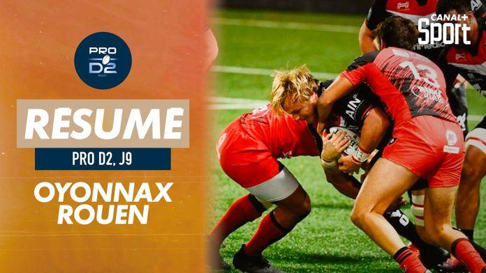 Le résumé d'Oyonnax / Rouen : PRO D2
